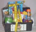 Tackle Box Kid Gift Basket Fish Fun Fishing Gift Basket Candy Cookies #2