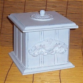Chic Destressed Trinket Chest Shabby Chic Home Decor