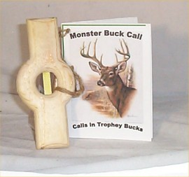 Buck Deer Call Novelty Gag Gift Holiday Any Occassion Redneck Huntsman Lodge